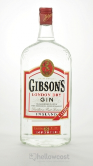 Gibsons Dry Gin 37.5º 1 Litre - Hellowcost