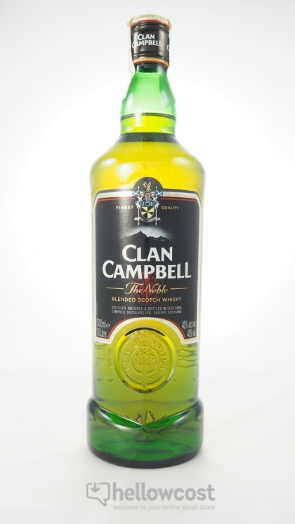 clan campbell whisky 40 1 litre hellowcost bienvenue. Black Bedroom Furniture Sets. Home Design Ideas