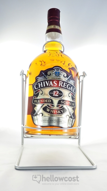 chivas regal 12 ans 40 4 5 litres whisky hellowcost. Black Bedroom Furniture Sets. Home Design Ideas