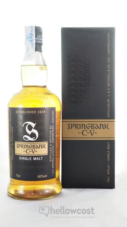 springbank cv whisky 46  70 cl