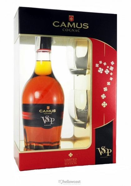 camus vosp elegance cognac 40 70 cl verres hellowcost. Black Bedroom Furniture Sets. Home Design Ideas