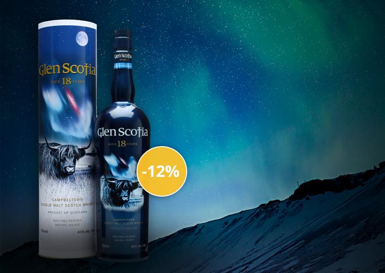 Glen Scotia 18 Ans Whisky