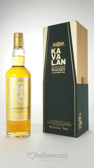 Kavalan Single Malt Ex-Bourbon Oak Whisky 46% 70 Cl