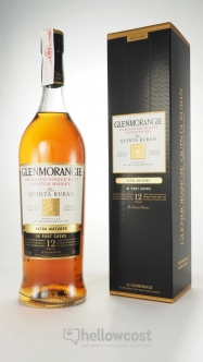 Glenmorangie 12 Ans Quinta Ruban Port Cask Whisky 43% 1 Litre - Hellowcost
