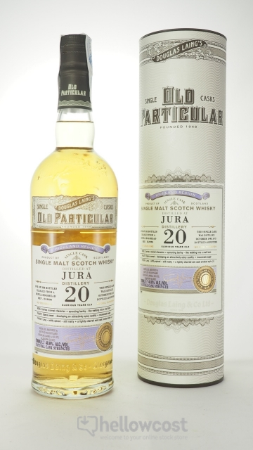 OLD PARTICULAR JURA 20 ANS WHISKY 48,6% 70 cl DOUGLAS LAINGS