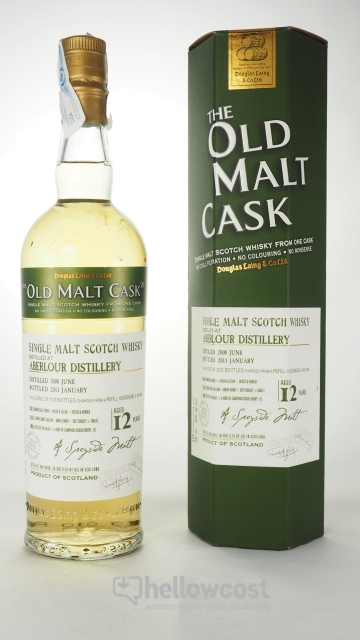 ABERLOUR 12 ANS THE OLD MALT CASK WHISKY 50% 70 cl