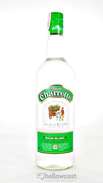 Charrette Rhum Blanc 40% 1 Litre