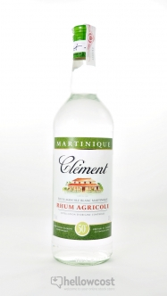 Clement Rhum Blanc 40% 1 Litre - Hellowcost