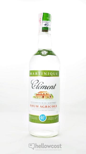 Clement Rhum Blanc 40% 1 Litre