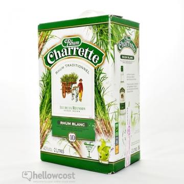Charrette Rhum Blanc 40% Box 2 Litres