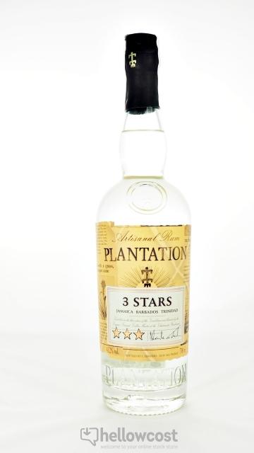Plantation Blanc Rhum 3 Stars 41,2% 70 Cl
