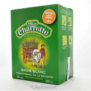 Charrette Rhum Blanc 49% Box 4,5 Litres