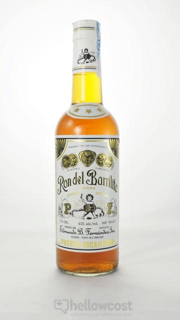 Ron Del Barrilito Rhum Especial 43% 70 Cl