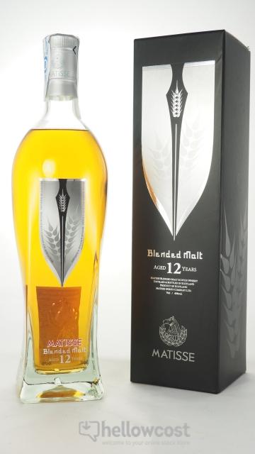 Matisse Whisky Malt 12 Ans 40% 70 Cl