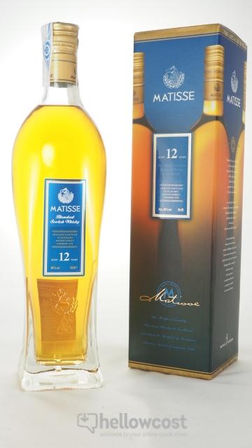 Matisse Whisky Blended 12 Ans 40% 70 Cl
