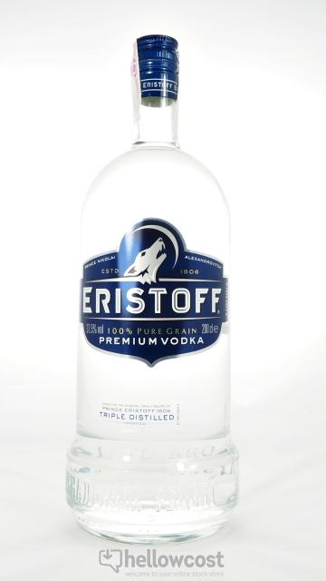 Eristoff Vodka 37.5% 2 Litres