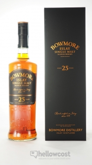 Bowmore 15 Years Golden & Elegant Whisky 43% 100 cl - Hellowcost