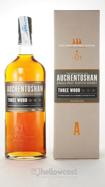 Auchentoshan Three Wood Whisky 43% 70 Cl