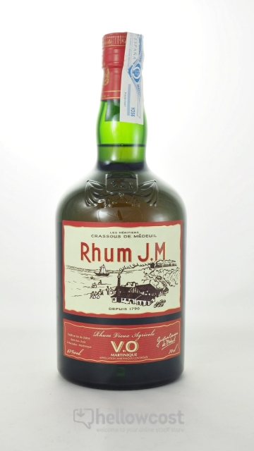 Jm Rhum V.O 43% 70 Cl