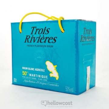 Trois Rivieres Rhum Blanc 50% Box 3 Litres
