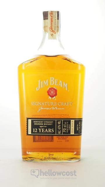 Jim Beam 12 Years Signature Craft Bourbon 43º 70 Cl