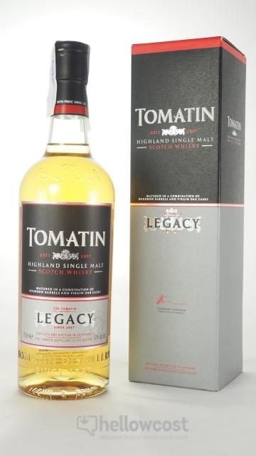 Tomatin Legacy Whisky 43º 70 Cl