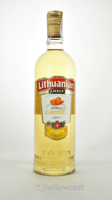 Lithuanian Amber Caramel Vodka 21º 1 Litre