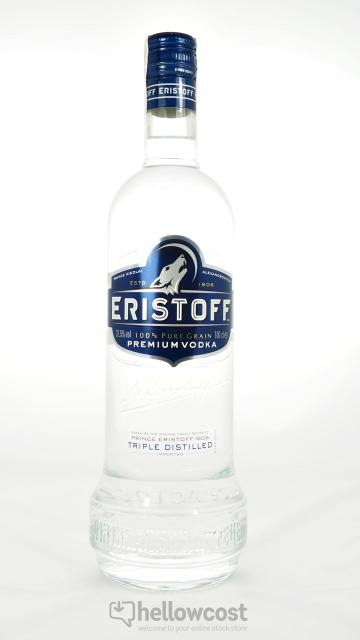 Eristoff Vodka 37.5º 1 Litre