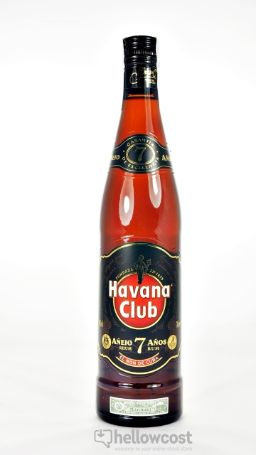 Havana Club Añejo 7 Years Rhum 40º 70 Cl