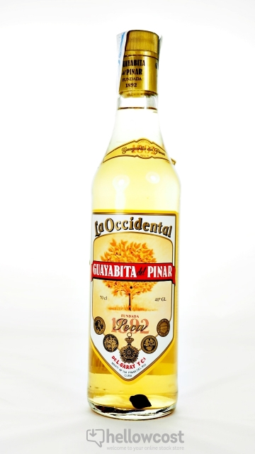 Guayabita Del Pinar La Occidental Rhum 40º 70 Cl