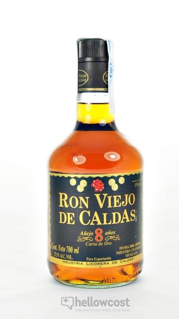 Viejo De Caldas 8 Years Rhum 37.5º 70 Cl