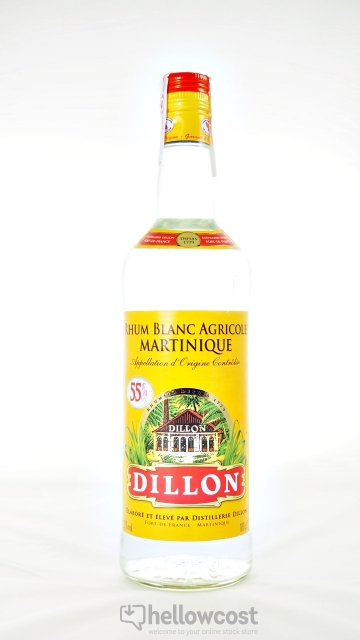 Dillon Rhum Blanc 55º 1 Litre
