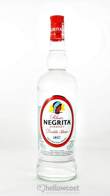 Negrita Bardinet Rhum Blanc 37,5º 1 Litre