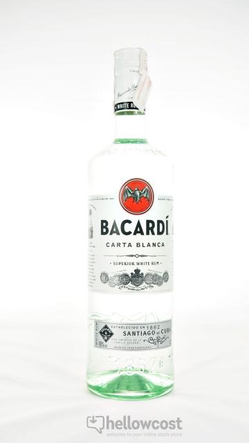 Bacardi Rhum Blanc 40º 1 Litre