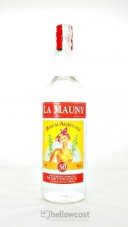 La Mauny Rhum Blanc Agricole 40º 1 Litre - Hellowcost