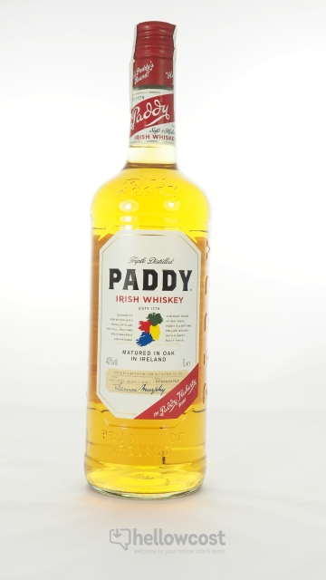 Paddy Old Irish Whiskey 40º 1 Litre