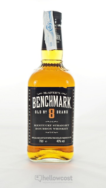 Benchmark Old Nº8 Brand Bourbon 40º 70 Cl