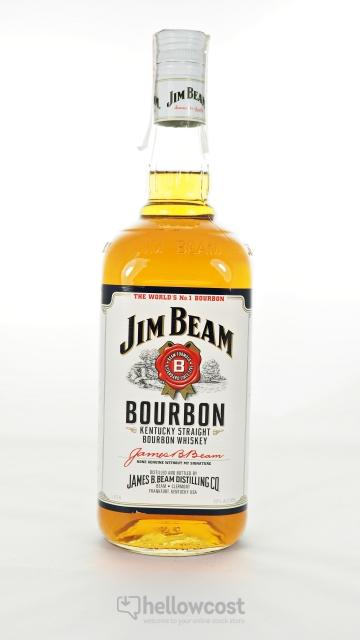 Jim Beam Bourbon 40º 1 Litre