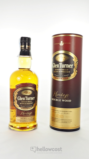 Glen Turner Heritage Double Wood Malt Whisky 40º 70 Cl