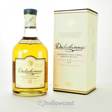 Dalwhinnie 15 Years Malt Whisky 43º 70 Cl