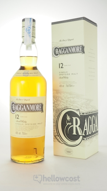 Cragganmore 12 Years Malt Whisky 40º 70 Cl
