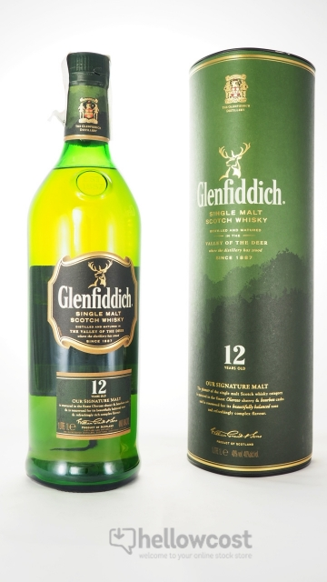Glenfiddich 12 Years Malt Whisky 40º 1 Litre