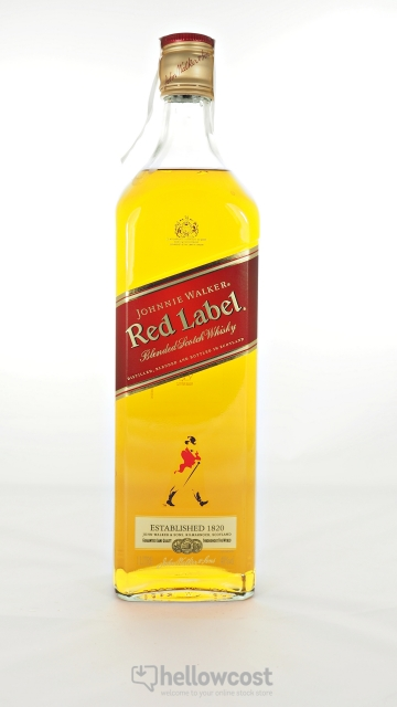 Johnnie Walker Red Label Whisky 40º 1 Litre