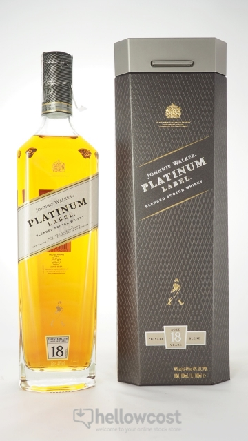 Johnnie Walker Platinum 18 Years Whisky 40º 1 Litre