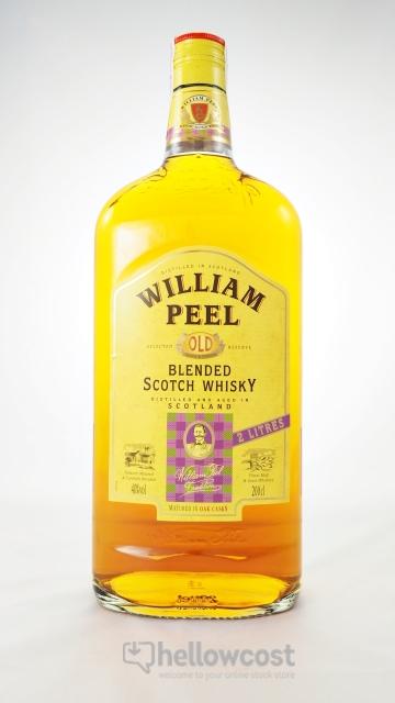 William Peel Magnum Whisky 40º 2 Litres