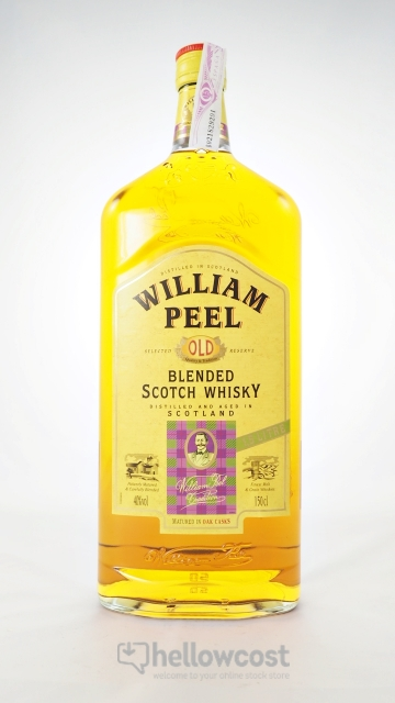 William Peel Magnum Whisky 40º 1,5 Litres