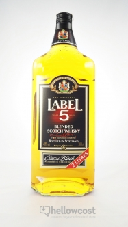Label 5 Magnum Whisky 40º 1,5 Litres - Hellowcost