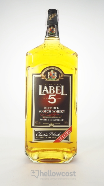 Label 5 Magnum Whisky 40º 1,5 Litres