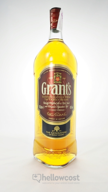 Grants Magnum Whisky 40º 1,5 Litres