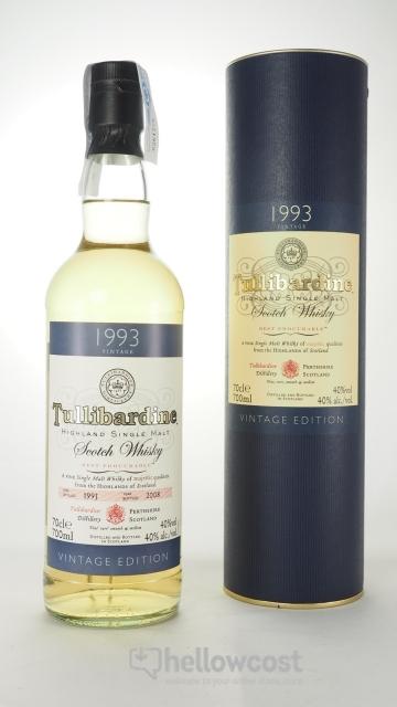 Tullibardine Vintage 1993 Whisky 40º 70 Cl